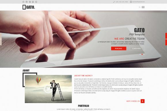 Gato Free Website Template