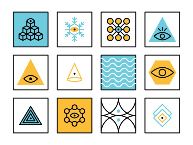 Free Abstract Geometric Icon Pack