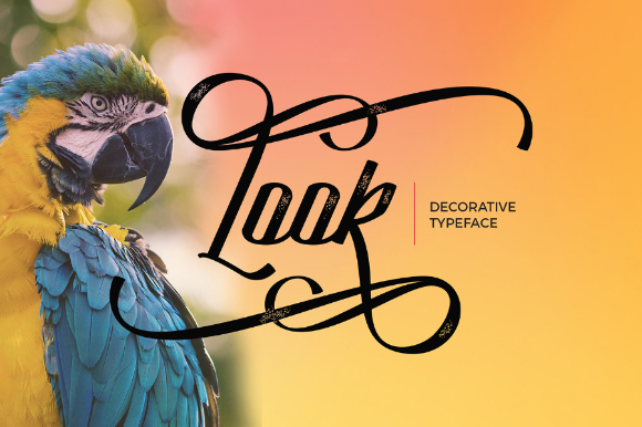Look Decorative Script Free Demo