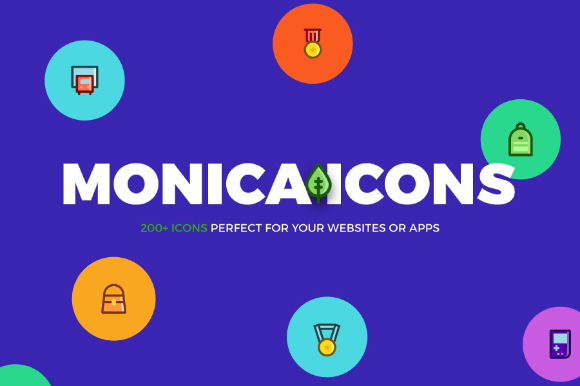 200+ Monica Icons Free Version