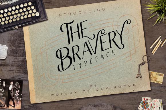 Bravery Lite Free Typeface