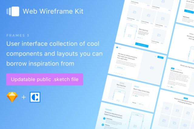Frames Free Sketch Wireframe