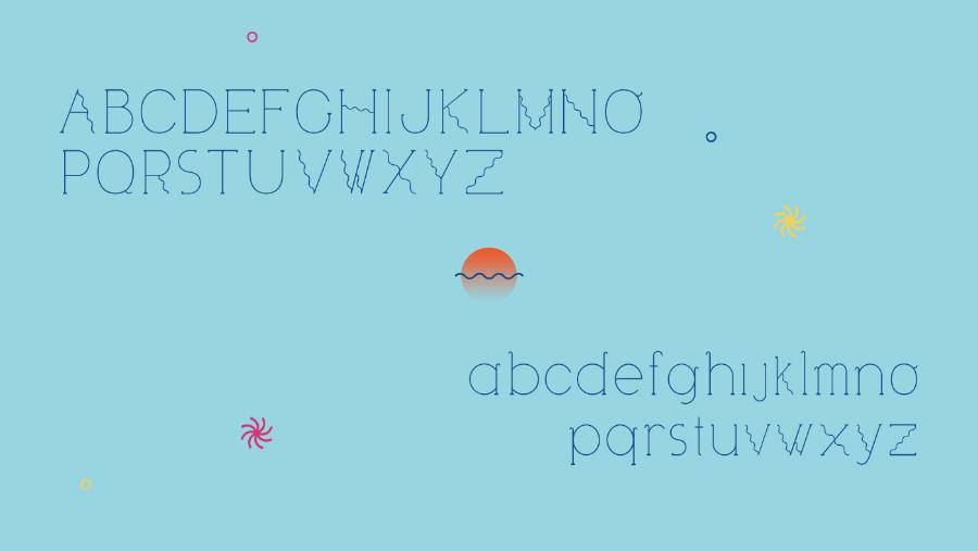 Visionair Display Free Typeface