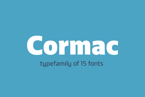 Cormac Typefamily Free Demo
