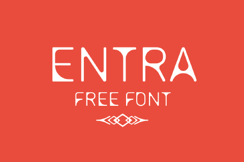 Entra Display Free Typeface