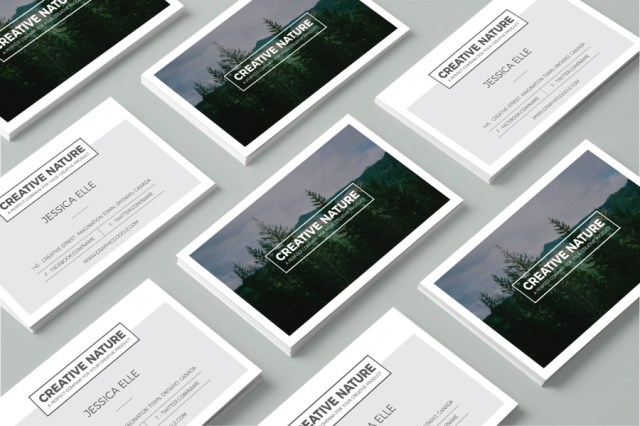 Free Creative Artist Business Card