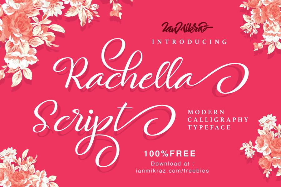 Rachella Script Free Font