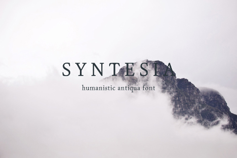 Syntesia Free Humanistic Typeface