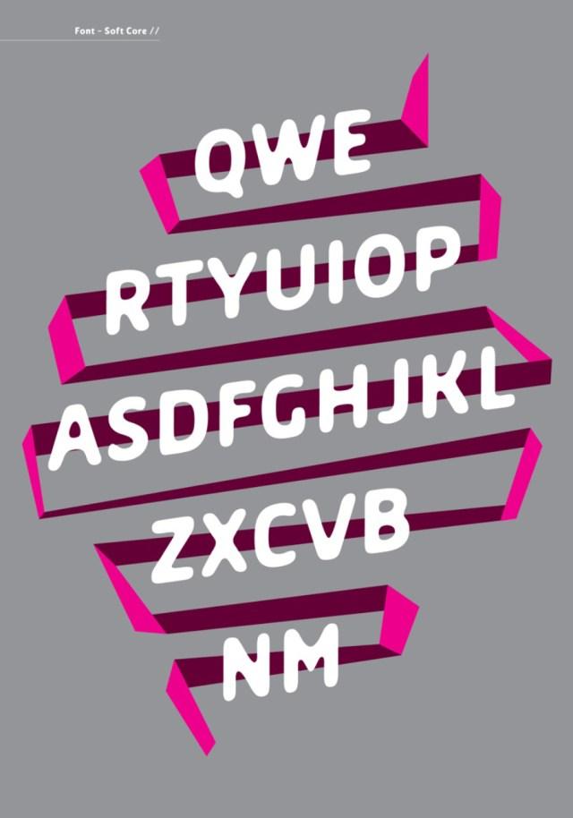 Soft Core Free Typeface