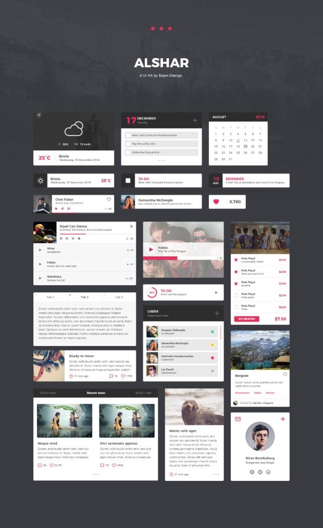 Alshar Free UI Elements
