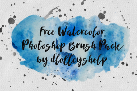 Free Watercolor Brush Pack