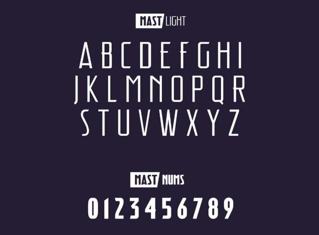 Mast Display Free Typeface