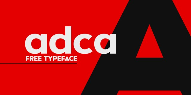Adca Sans Free Typeface