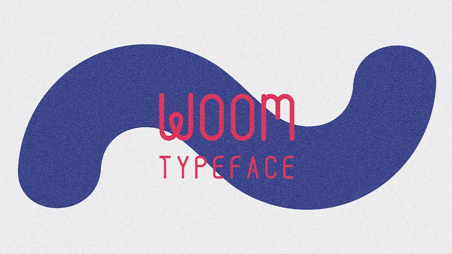Woom Display Free Typeface