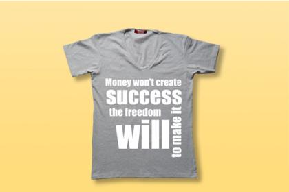V-Neck Shirt Free Mockup