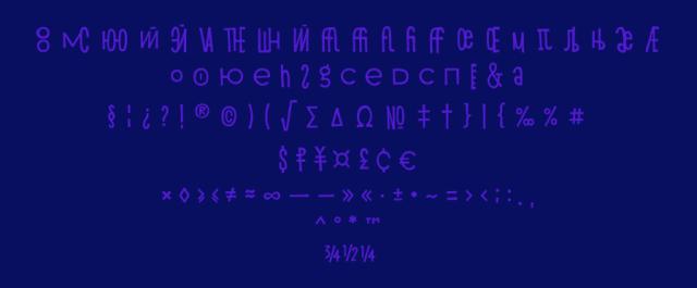 Shnobel Display Free Typeface