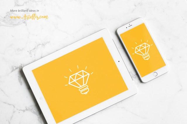 Free iPhone iPad Mockup