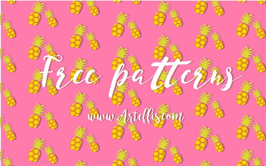 Free Vector Fruit Patterns