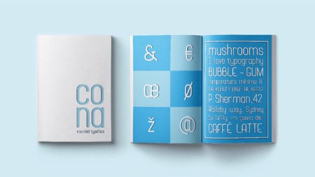 Cona Display Free Typeface