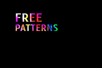 Free Retro Seamless Patterns