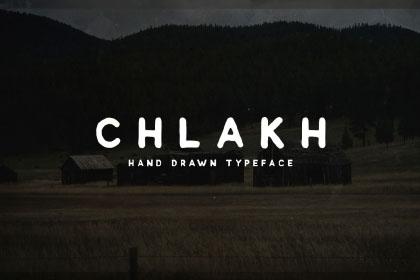 Chlakh Free Retro Typeface