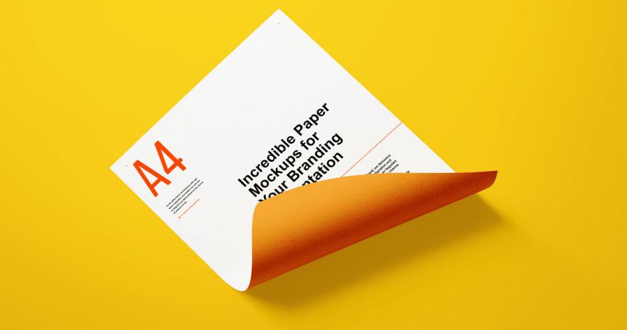 Paper Branding Mockup Demo