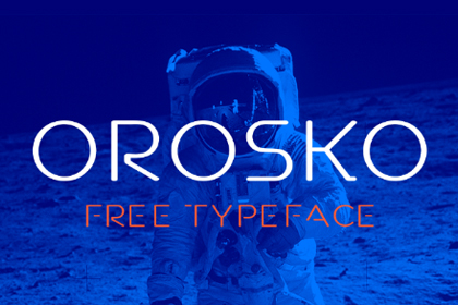 Orosko Display Free Typeface