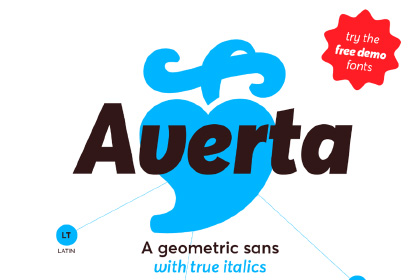 Averta Sans Family Free Demo