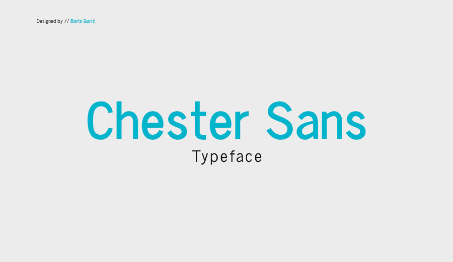Chester Typefamily Free Demo