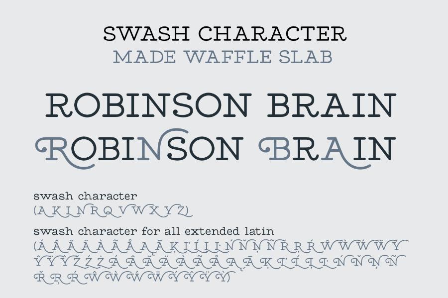 MADE Waffle Free Demo Font