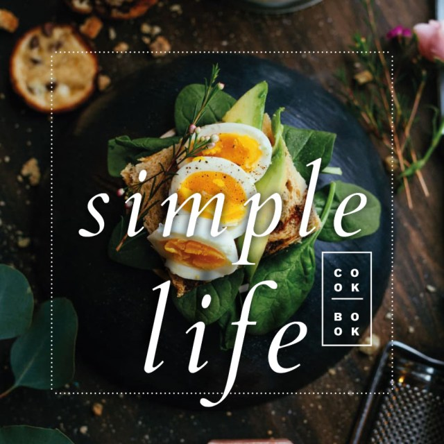 Simple Life Cookbook Template Free Design Resources - Adobe indesign cookbook template