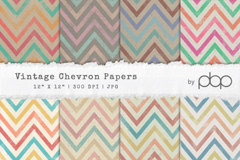 vintage chevron paper textures free design resources