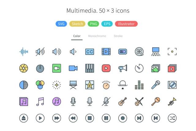 Pioneer Icons Free Demo Pack