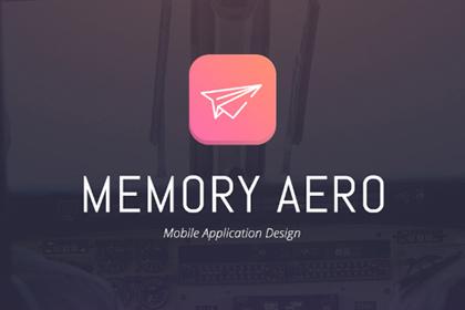 Memory Aero iOS App UI Kit