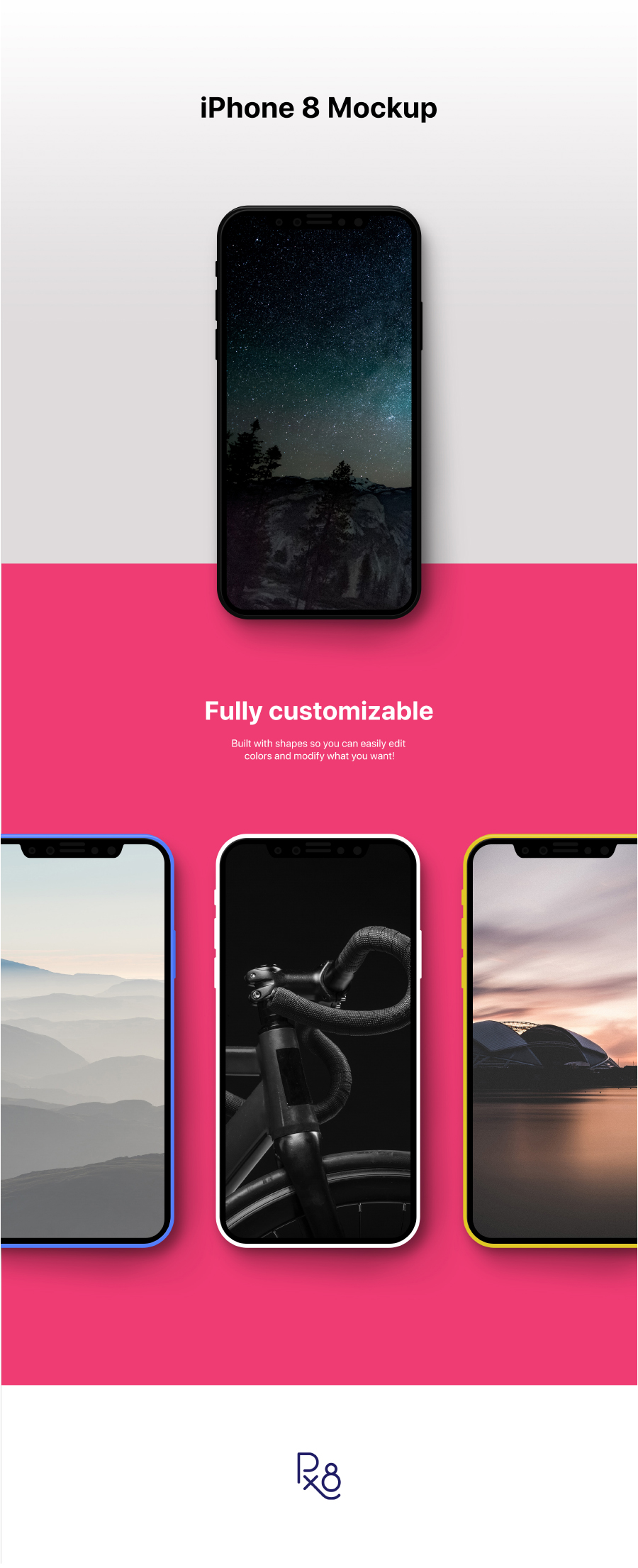 Iphone 8 Mockup Psd Freebie Free Design Resources
