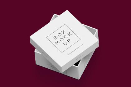 Free PSD Packaging Box Mockup