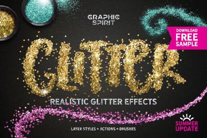 Free Photoshop Glitter Effect