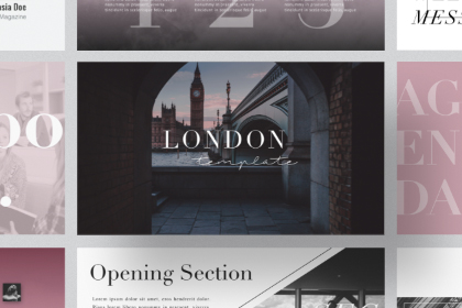 London Free Presentation Template