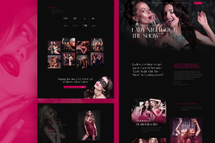 Lady Night Free Landing Page