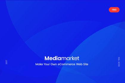 Mediamarket Free Ecommerce Template