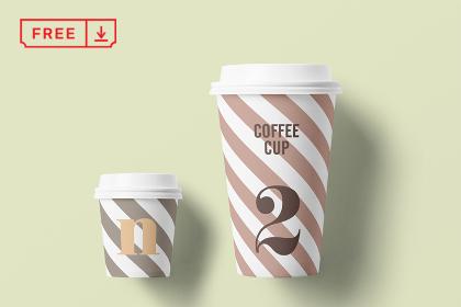 Fine Paper Cup Mockup