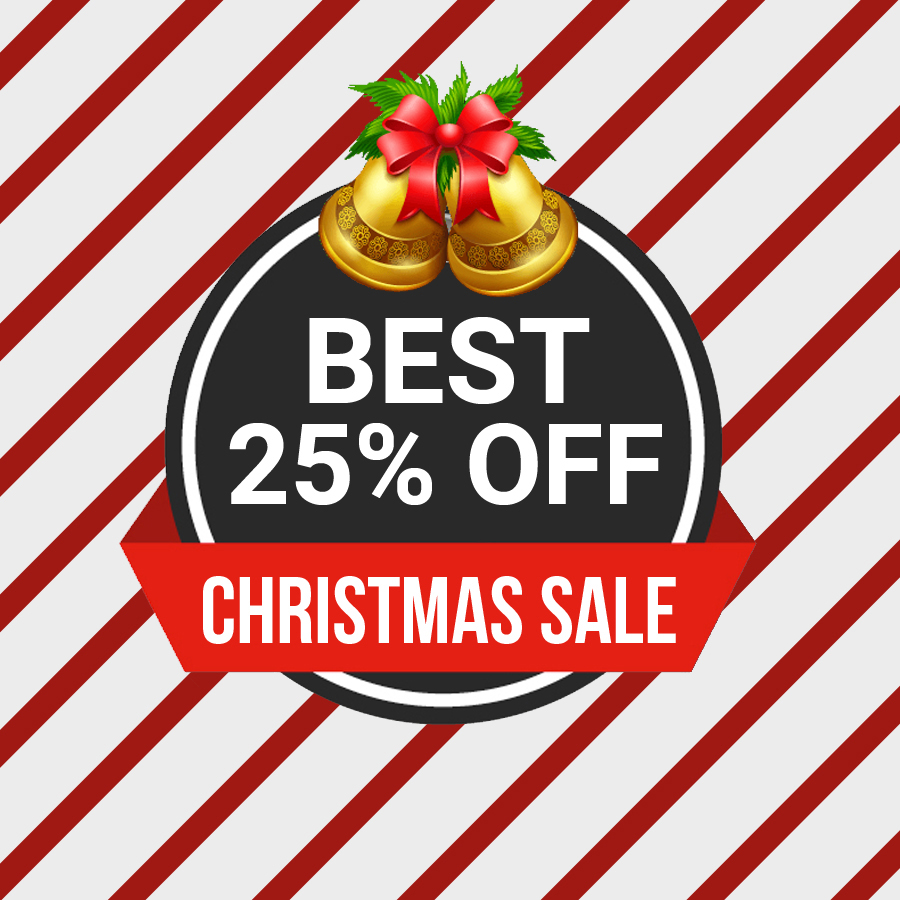 6 Free Christmas Sale Banners