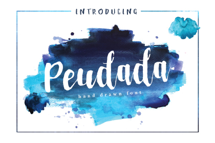 Peudada Hand-drawn Font Demo