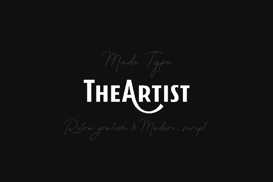The Artist Free Typeface