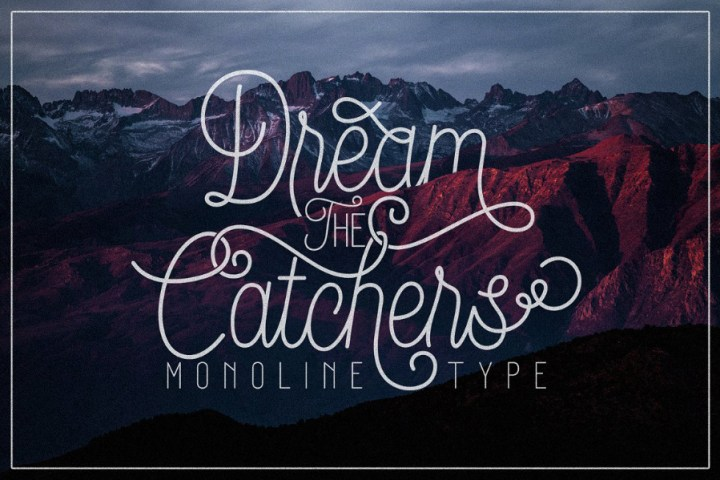 Dream Catchers Font Demo