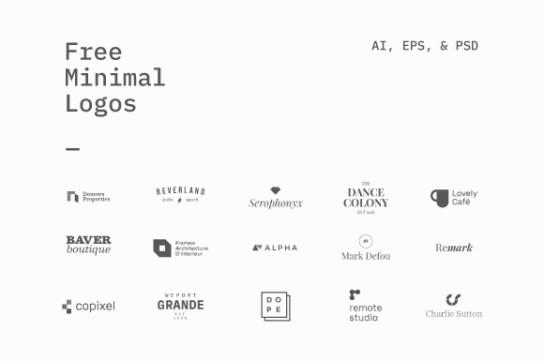 logo templates free design resources