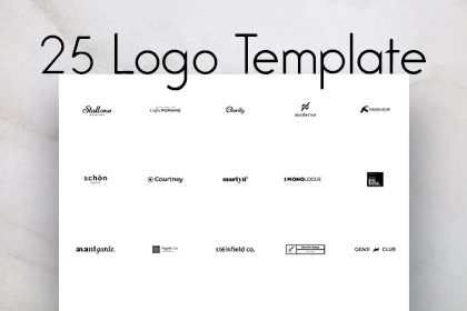 25 Free Vector Logo Template