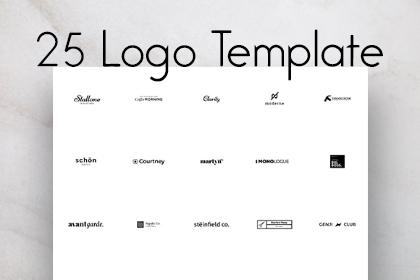 Free Logo Templates | Logo Templates Free Design Resources