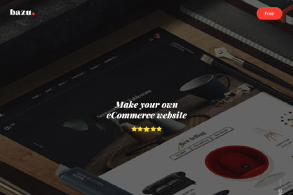 Bazu Multi-Purpose PSD Template