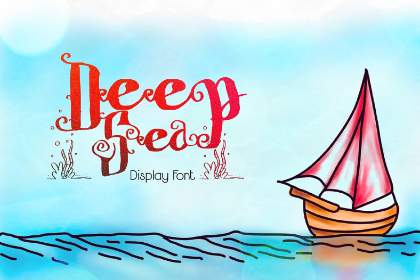 Deep Sea Free Display Font